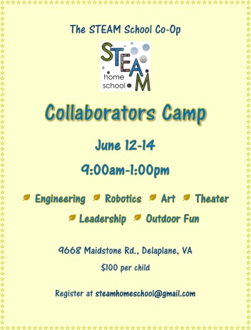 Summer Camp 2018 June 12-14
